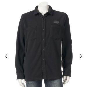 Men's Vans Fleece Button-Down Shirt